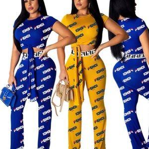 Pants - Ladies Sexy 2pcs Set